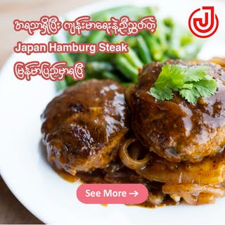 Japan Hamburg Steak | yathar