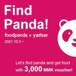 Find Panda! Campaign | yathar