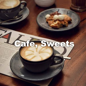 Cafe, Sweets