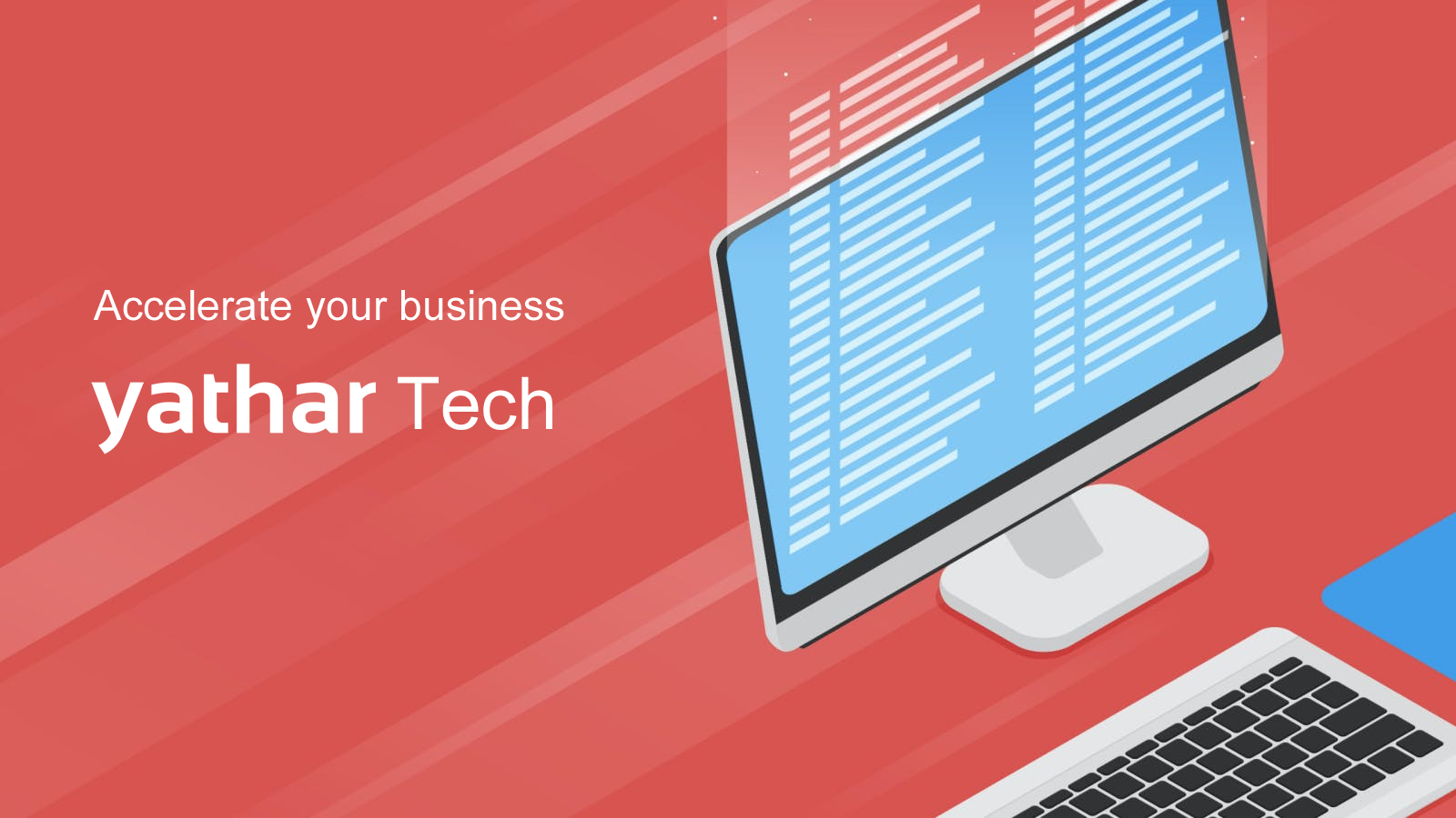 "Yathar has released ""yathar Tech"", System Development, Web Production, Cloud Infrastructure Construction Services 