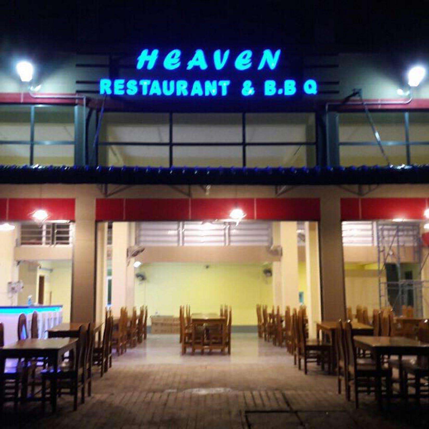 HEAVEN  Restaurant & B B Q   yathar
