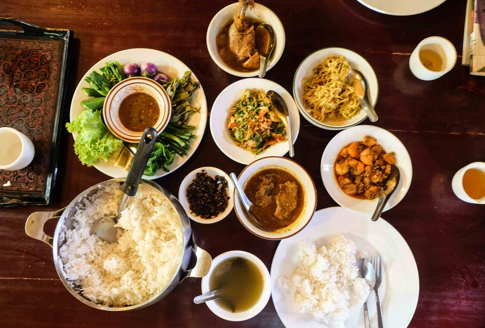 Ta Tha Tha Myanmar Traditional Food | yathar