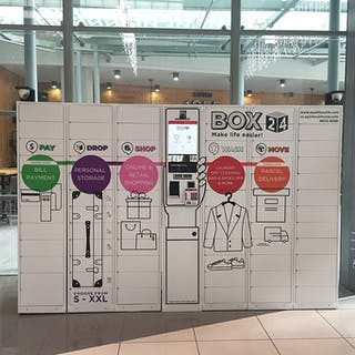 Box24 Smart Lockers | Laundry & Dry Cleaning | Beauty