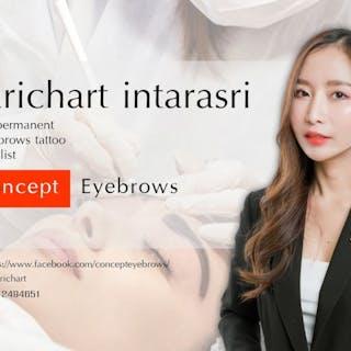 Concept eyebrows   Beauty