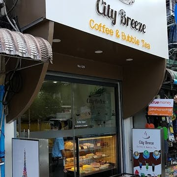 City Breeze Coffee & Bubble Tea photo by Kyaw Win Shein  | yathar