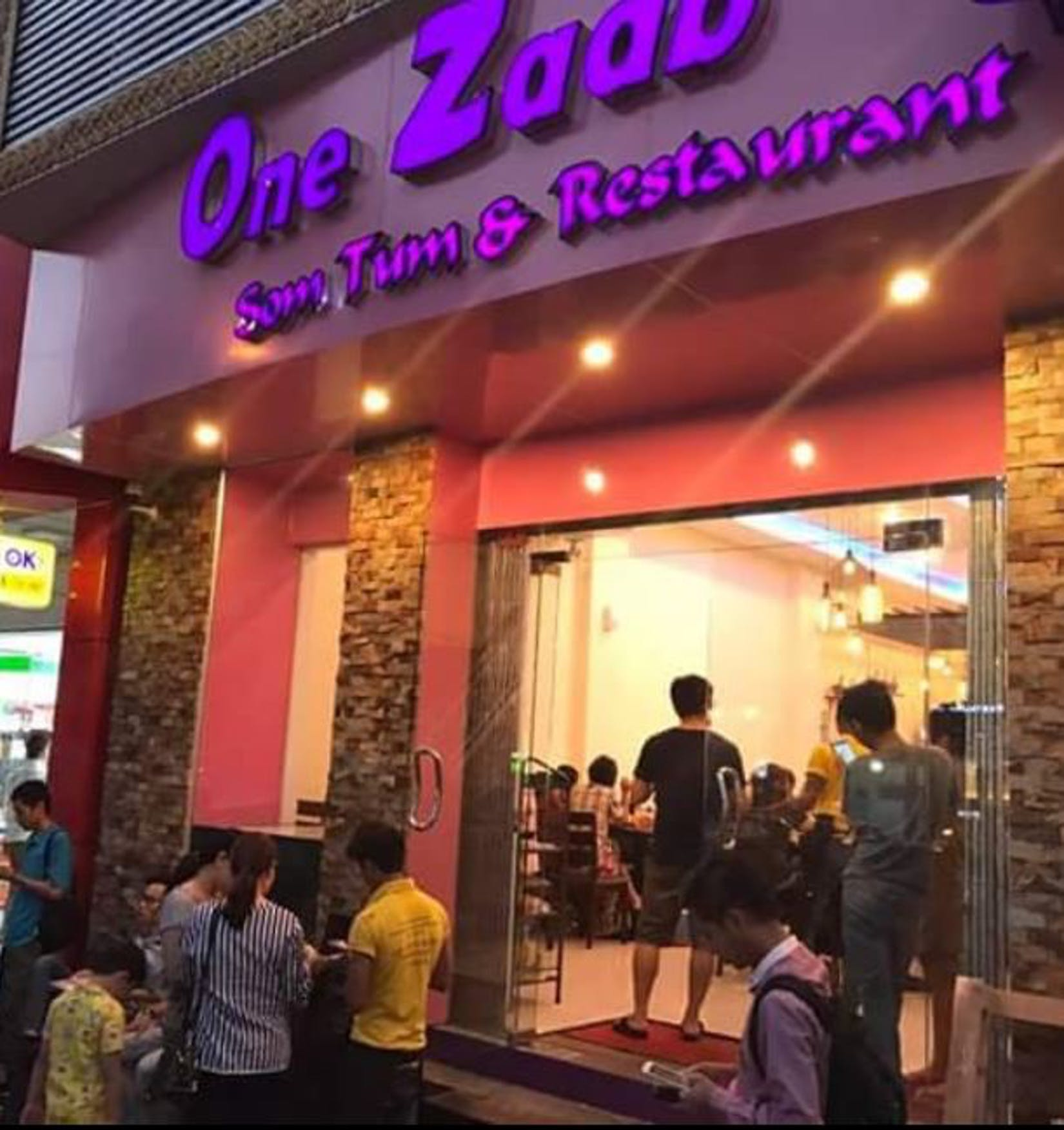 One Zabb Thai Food | yathar