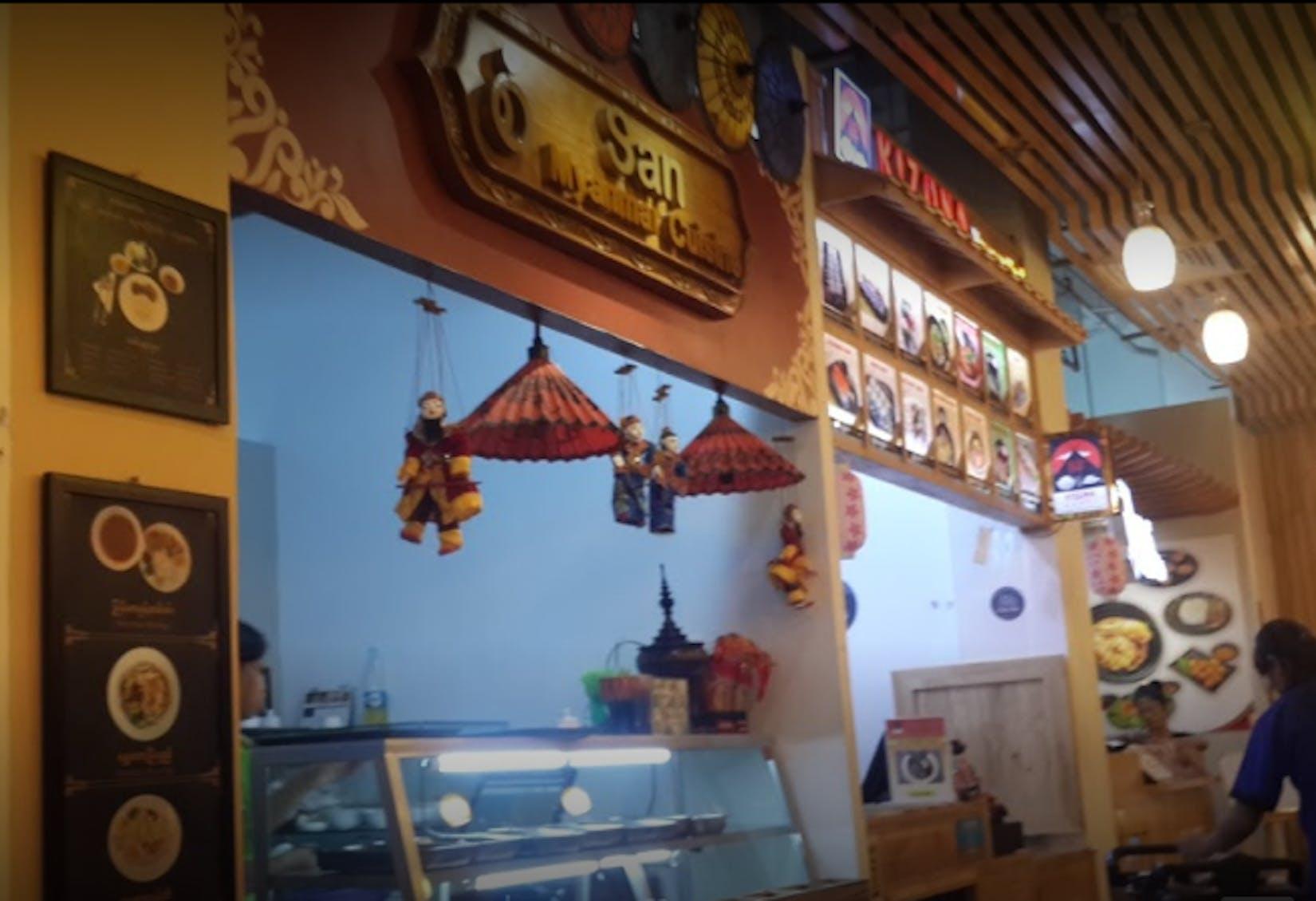 san myanmar food | yathar