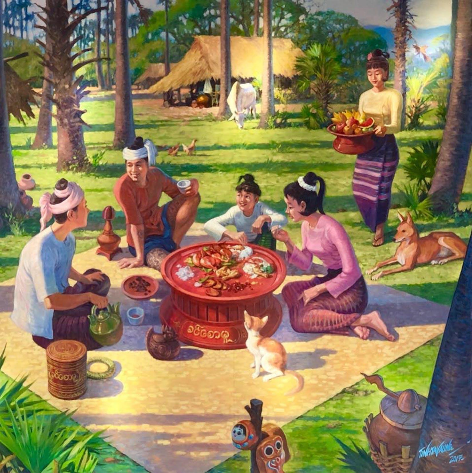 Khin Saw Mu Food Villa | yathar