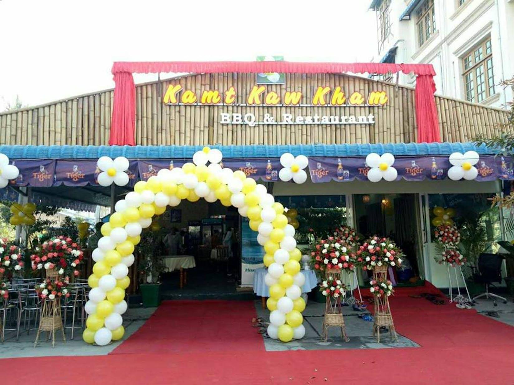 Kamt Kaw Kham BBQ & Restaurant | yathar