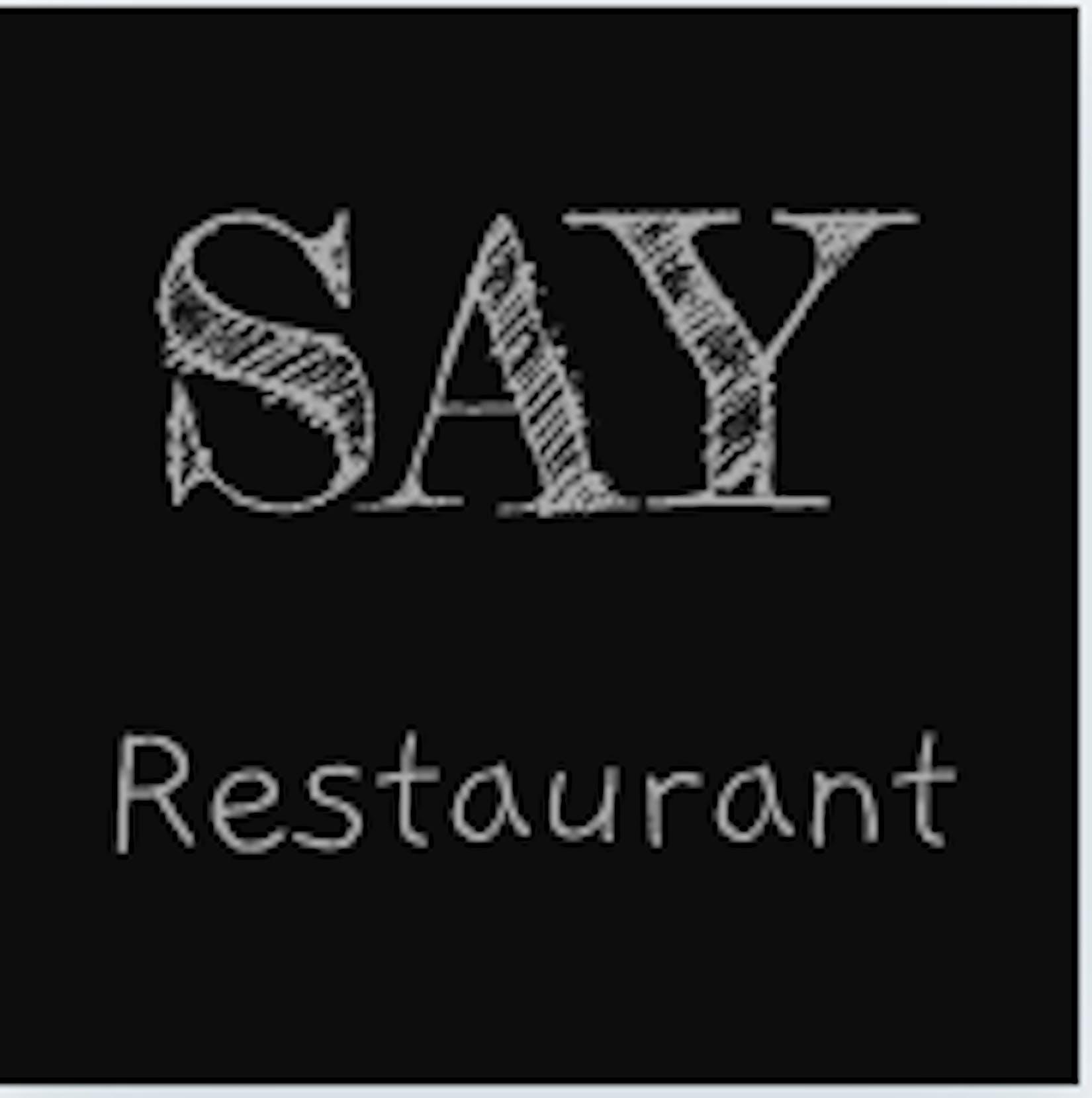 Say - Sushi & Thai & Chicken Rice | yathar
