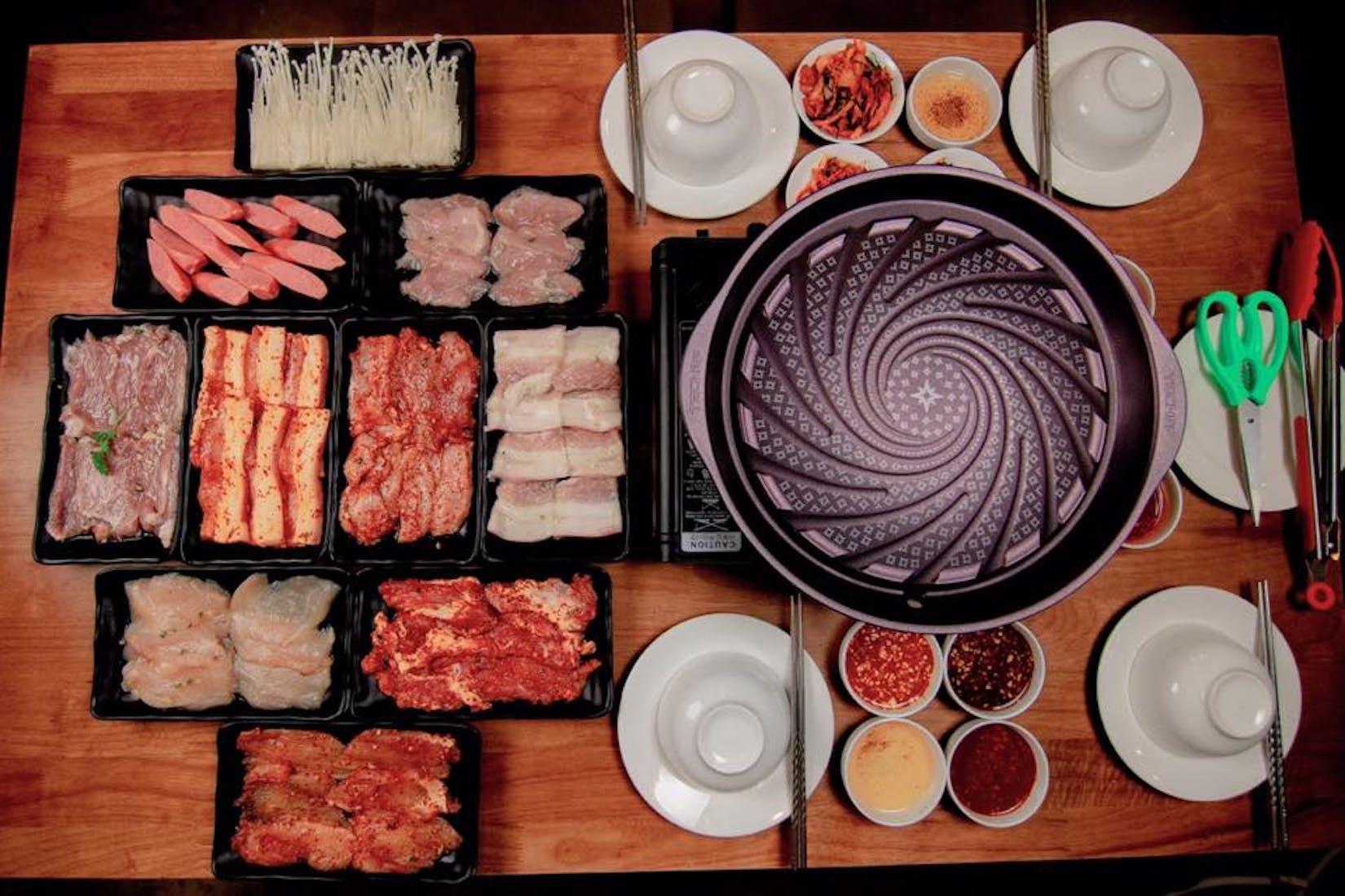 Oh My Grill BBQ& Mala Xiang Guo   yathar