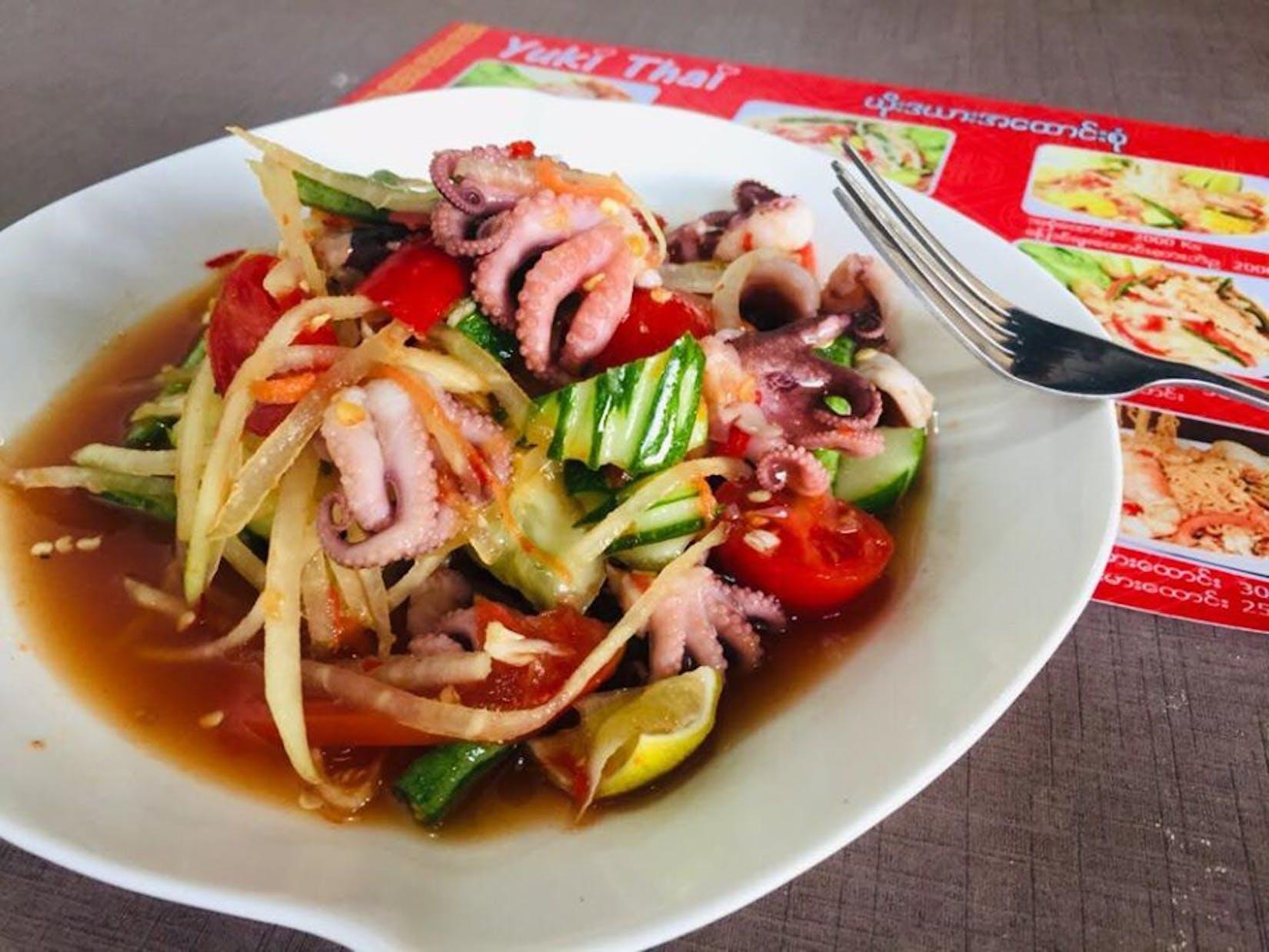 Yuki Thai Restaurant  South Okkalapa   yathar
