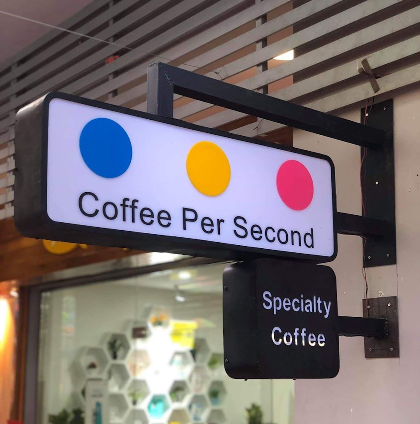 Coffee Per Second | yathar