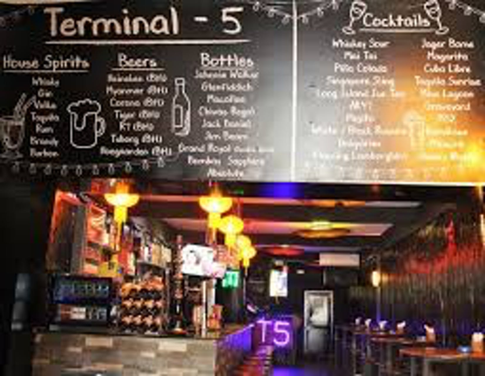 Terminal 5 Bar & Grill | yathar