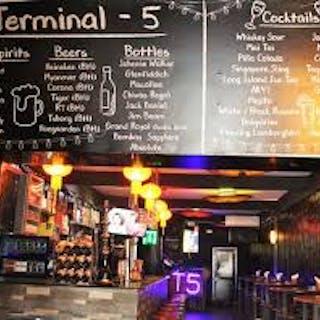 Terminal 5 Bar & Grill   yathar