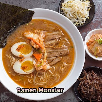 Ramen Monster ( Hledan Center Branch ) photo by Thet Pxone Zaw  | yathar