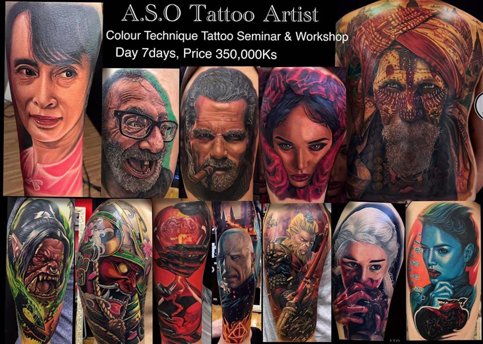 A.S.O Tattoo Studio   Beauty