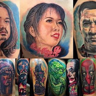 Brown Tattoo Studio   Beauty