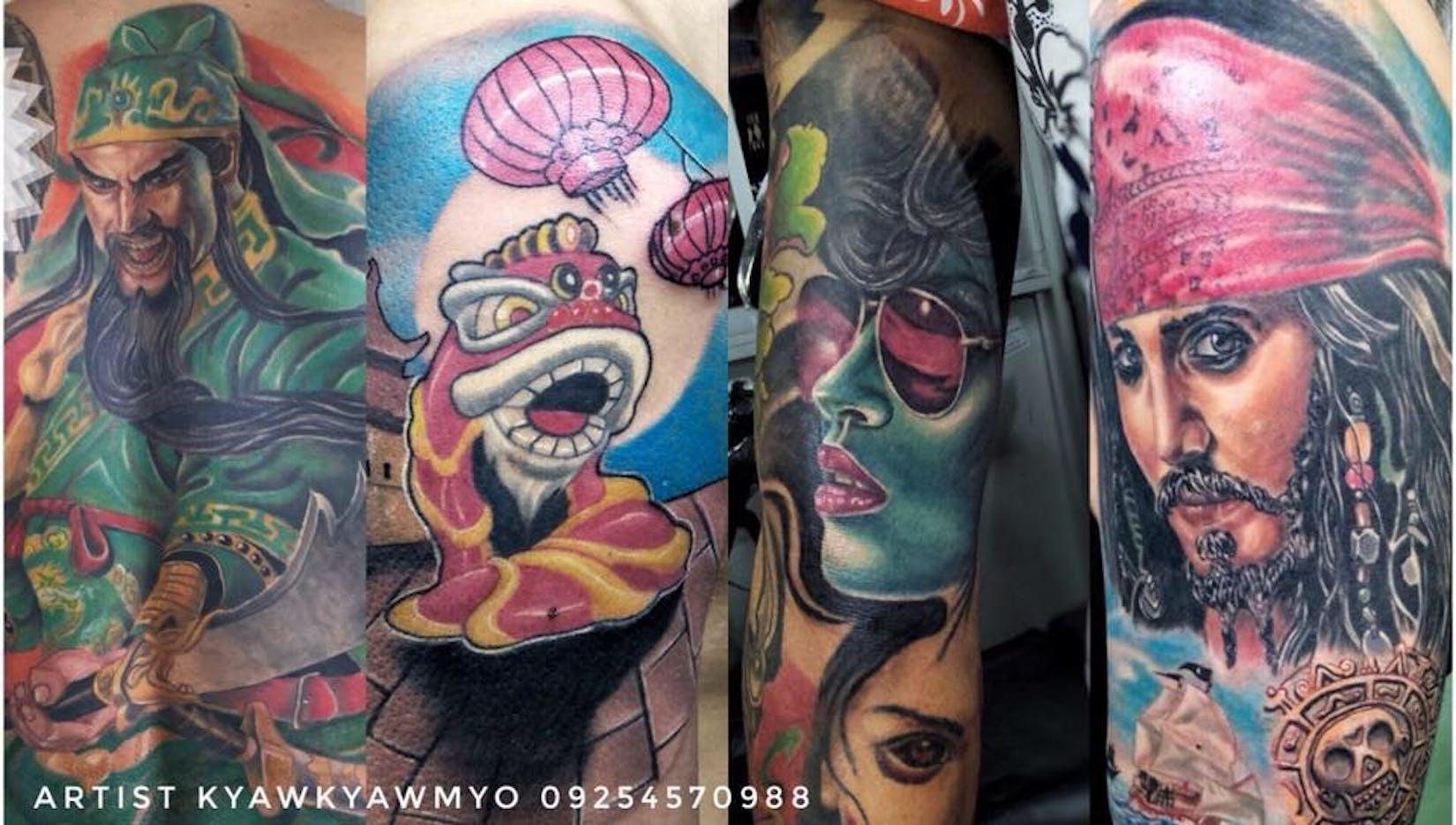 Kyaw Kyaw Myo's Tattoo Studio | Beauty