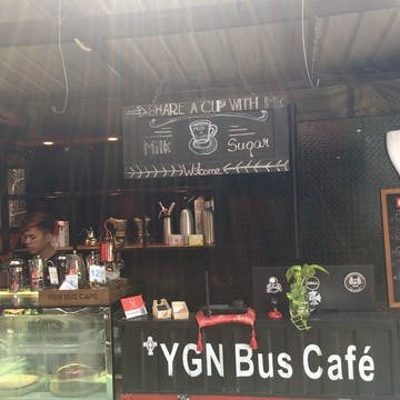 YGN Bus photo by Thet Pxone Zaw  | yathar