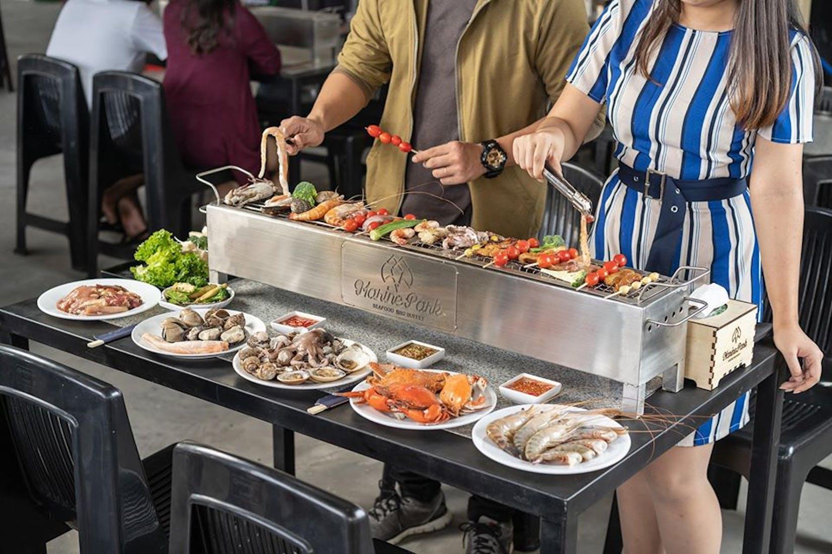 Marine Park - Seafood BBQ Buffet | yathar