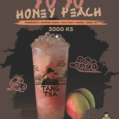 YOYO Honey Peach  | Tang Tea - Mandalay | yathar