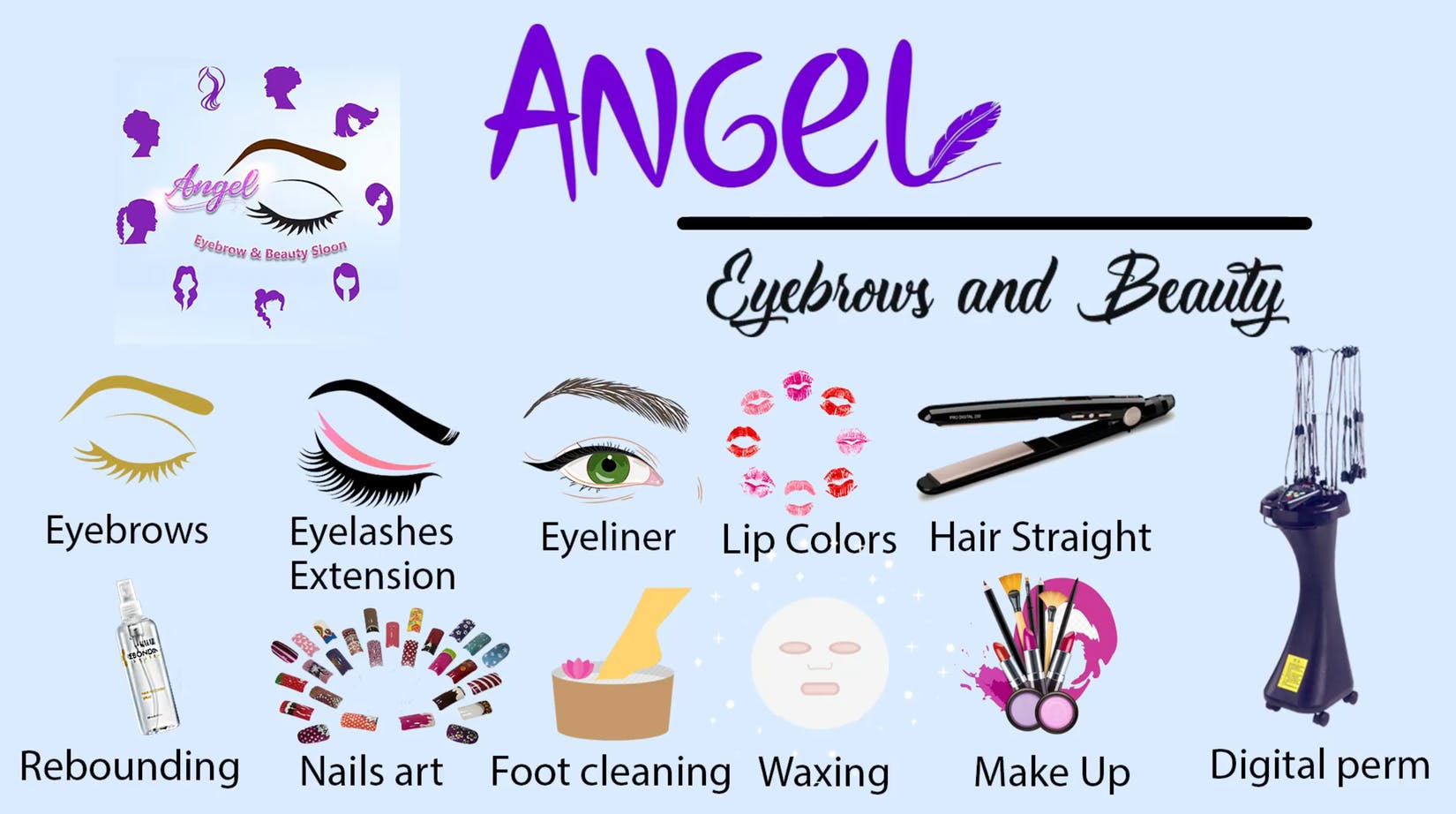 Angel Eyebrows and Salon | Beauty
