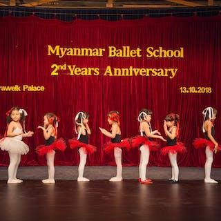 Myanmar Ballet School   Beauty