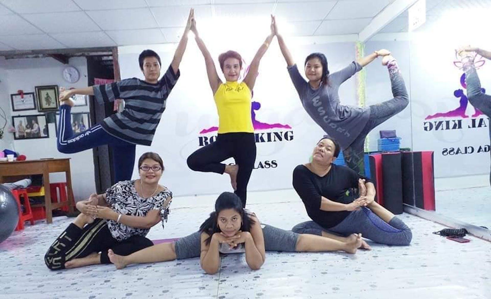 Royal King Yoga Class | Beauty