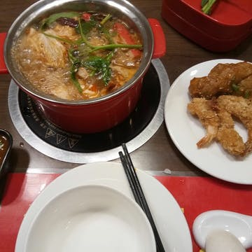 Jo Jo Hot Pot & Mala xaing guo (Capital Hypamarket) photo by Kyaw Win Shein  | yathar