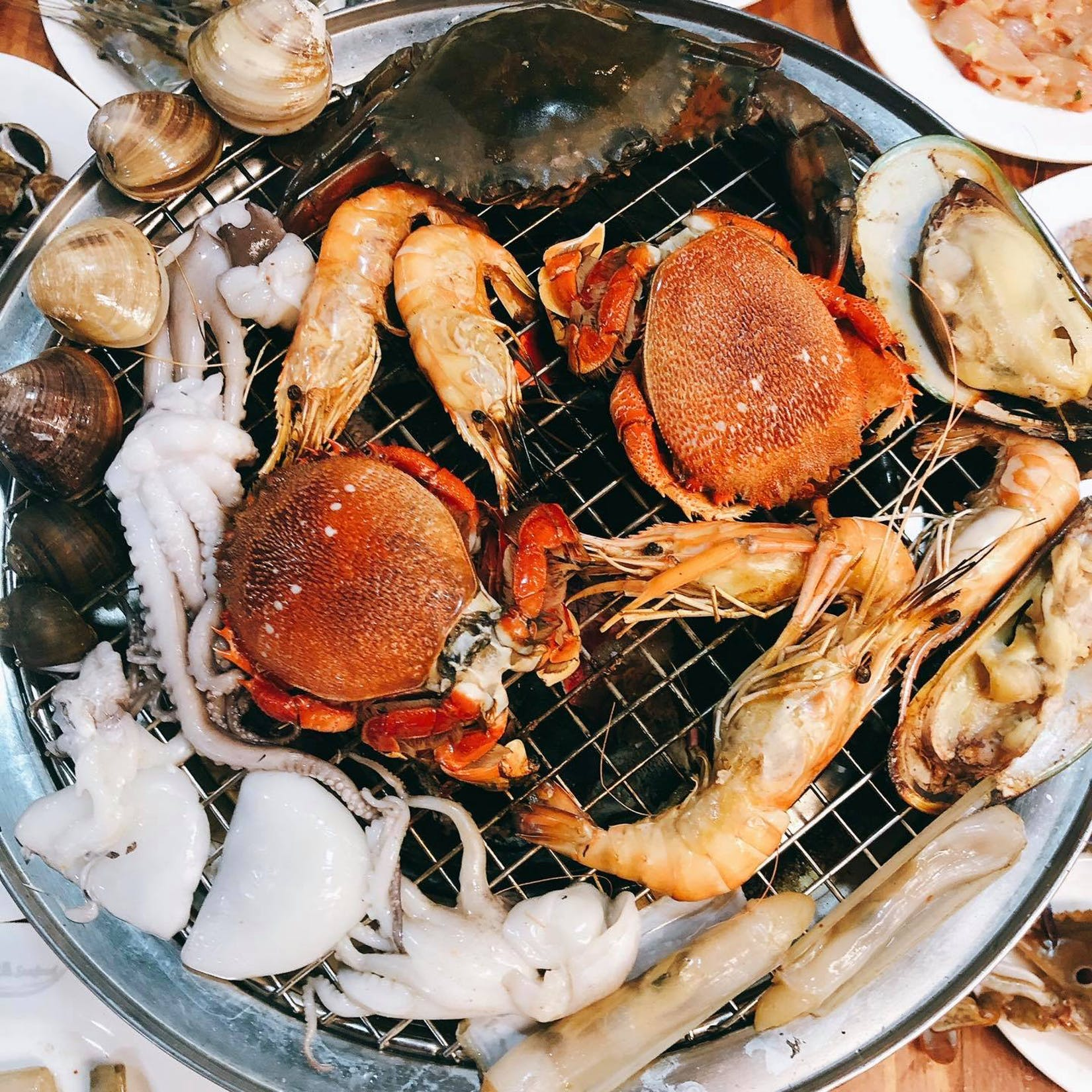 scuba seafood - bbq seafood buffet | yathar