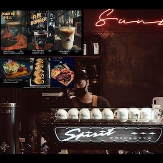 Sunset Cafe' กาแฟริมแม่น้ำเจ้าพระยา   yathar