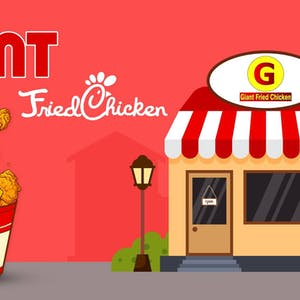 Giant Fried Chicken | yathar
