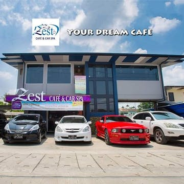 Zest Cafe and Car SPA photo by Kyalsin Thoon Hsu  | yathar