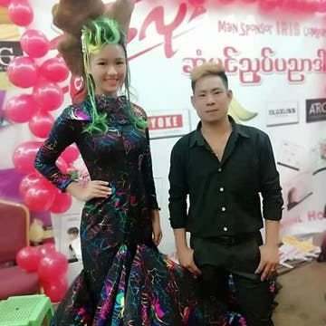 Thi Ha San - Hair Design & Beauty Saloon photo by EI PO PO Aung  | Beauty