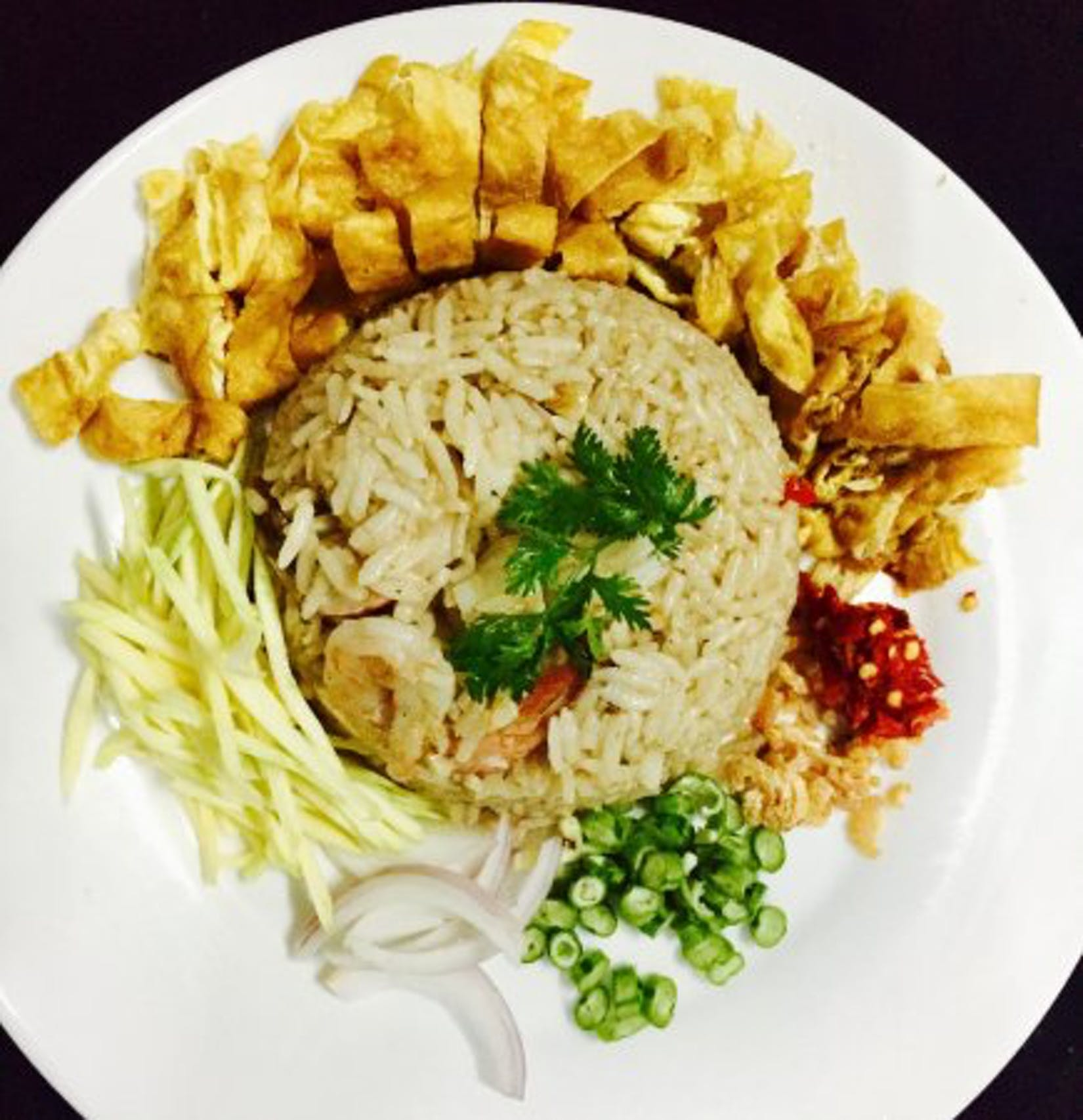 Kyaung Lann (Fried Rice)   yathar
