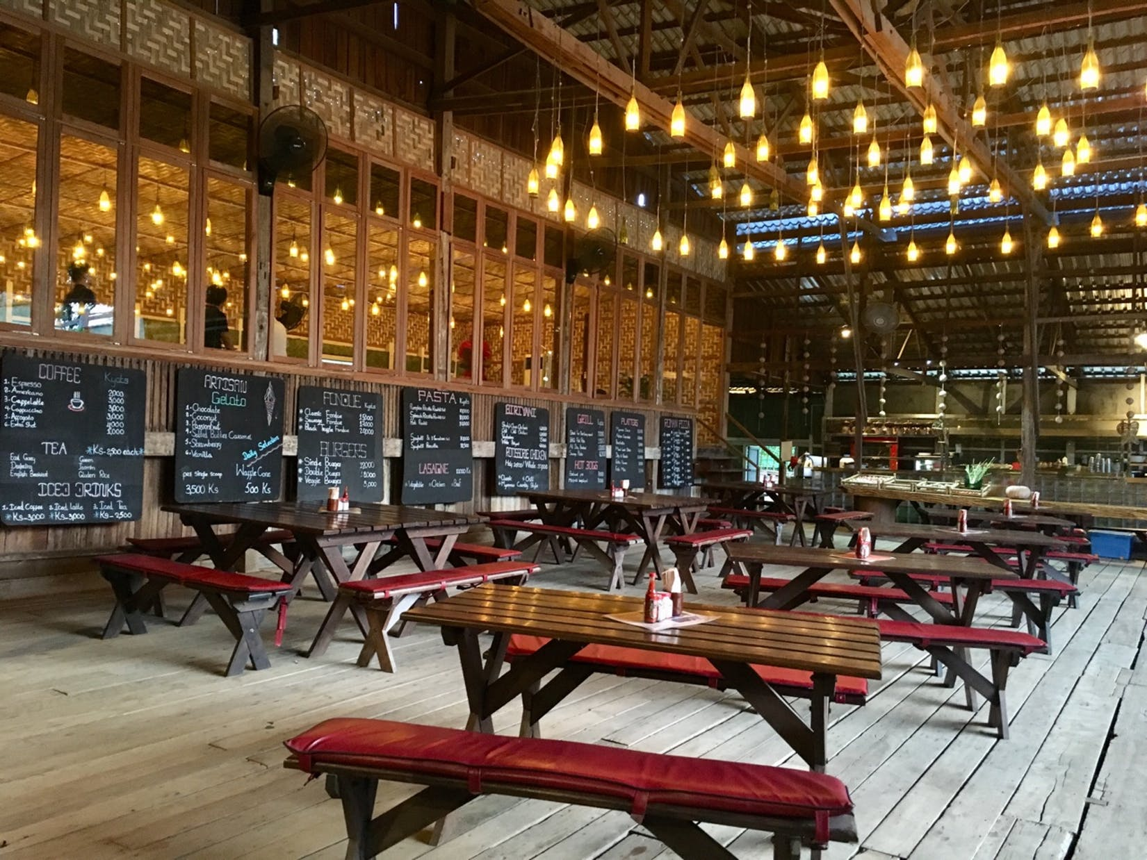 Sharky's Bagan deli and café | yathar