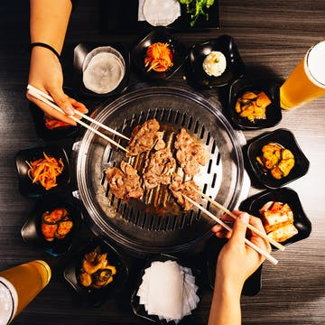 KOREA BBQ photo by Kyaw Win Shein  | yathar